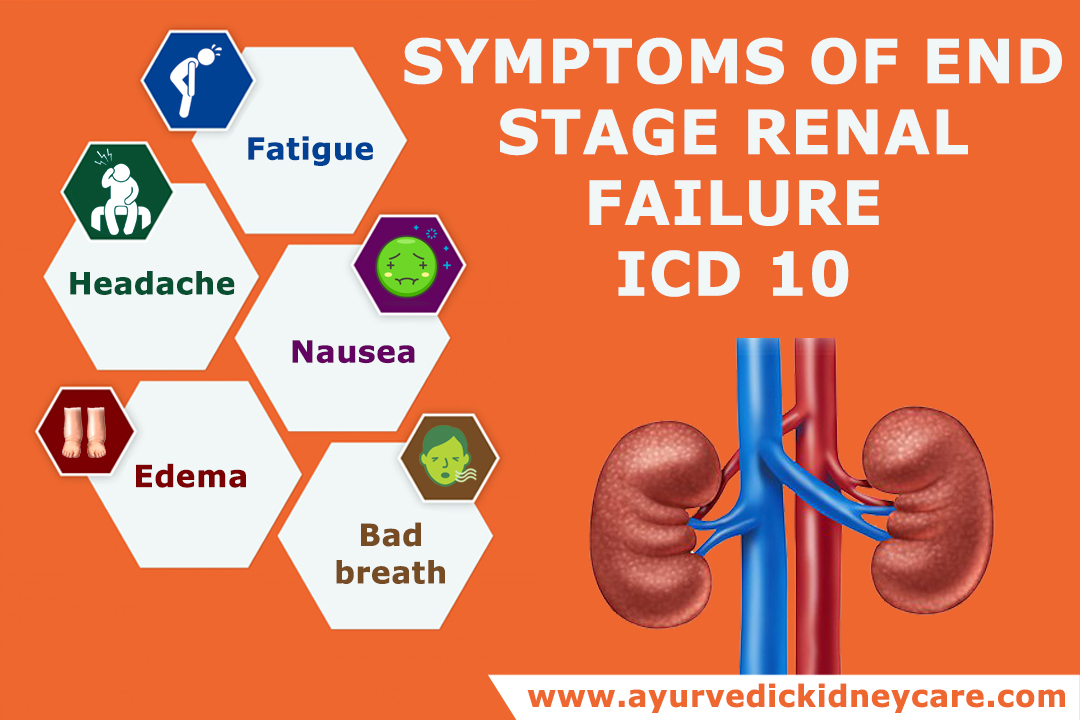End-stage renal disease icd 10